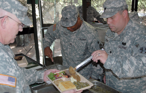 U.S. Army 3-D Printer food