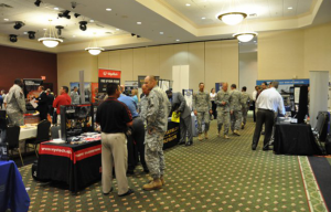 Army Job Fair AUSA