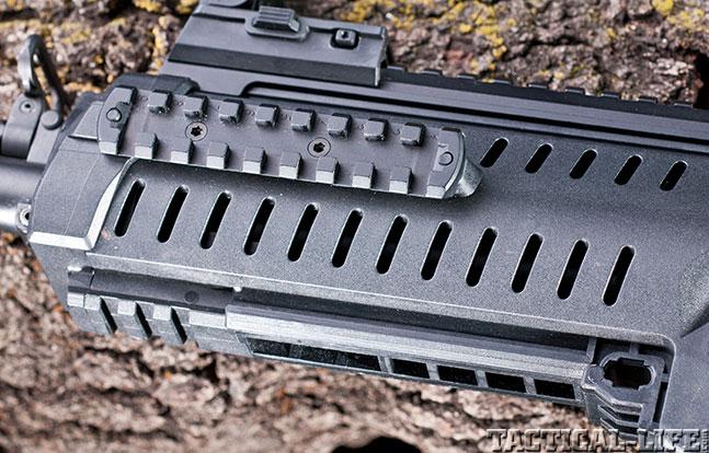ARX100 Black Guns rail