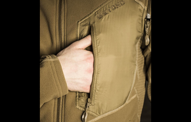 AXIOS RA Fleece pocket