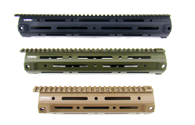 Black Dawn MMR Handguards 25 stacked