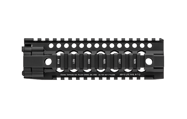 Daniel Defense AR-15 Lite Rail III 25 short
