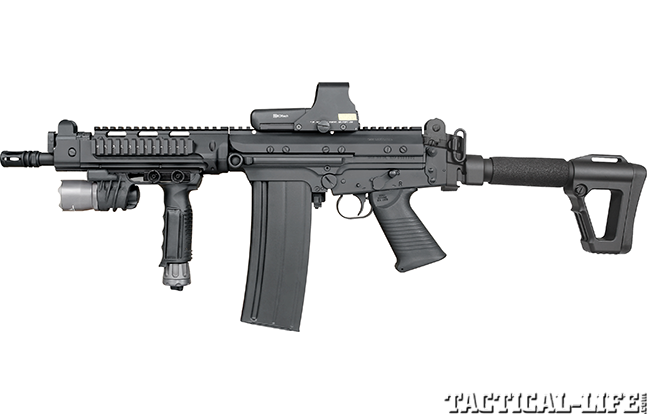 DS Arms SA58 Mini OSW gen evergreen lead
