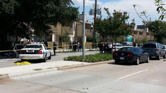 Houston Police bulletproof vest John Calhoun