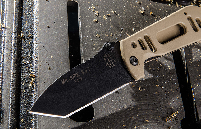 Mil-SPIE TOPS Knives lead