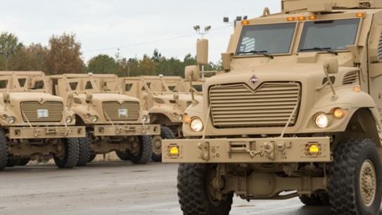 Navistar Defense MaxxPro Mississippi MRAP