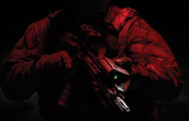 Ocular Interruption System dark warning laser