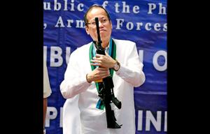 Philippines M4 rifles