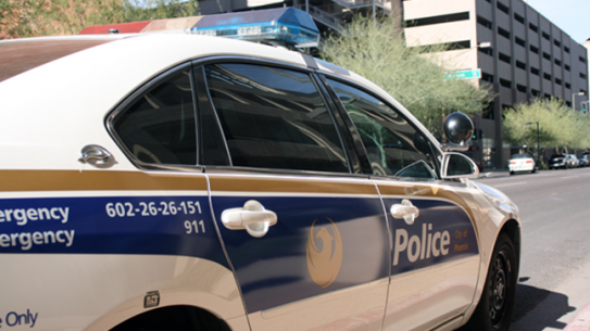 Phoenix Police Department car