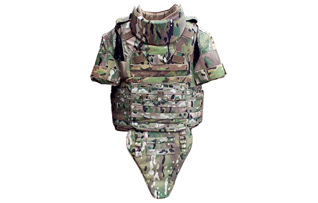 Point Blank APC top bulletproof front