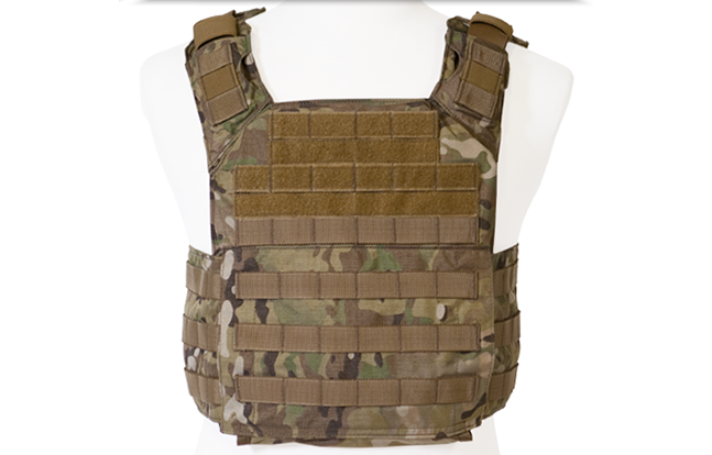 Shellback Tactical Banshee Rifle Plate Carrier camo