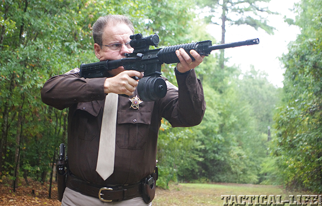 Sig Sauer M400 SRP preview officer