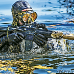 SureFire SOCOM suppressors water