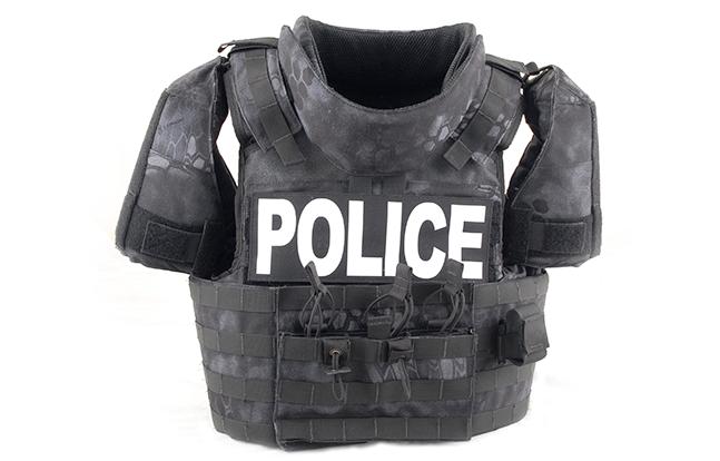 Survival Armor X50 Top Bulletproof lead