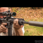 Smith & Wesson M&P15-22 AR aiming gun review