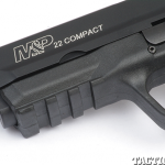 Smith & Wesson M&P22 first look rail