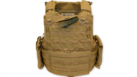 Tacprogear BLACK Releasable Body Armor Vest RBAV