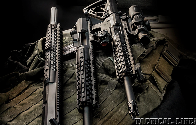 Wilson Combat Warriors BG 2015 AR trio