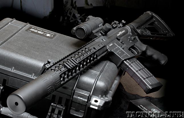 Wilson Combat Warriors BG 2015 suppressor