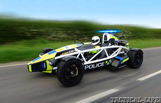 World's Fastest Police Car preview speed