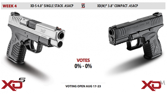 XD-S vs. XD(M) duel Springfield Armory