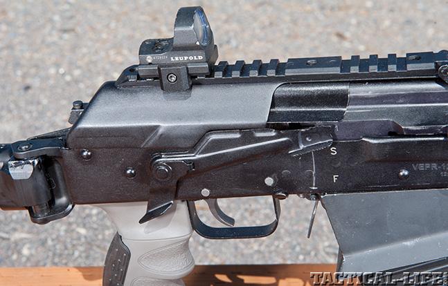 Top Shotguns SWMP MOLOT VEPR 12 GA. safety