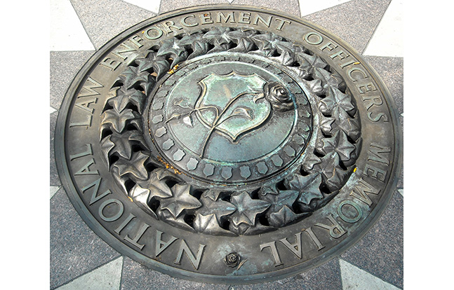 National Law Enforcement Officers Memorial wall seal