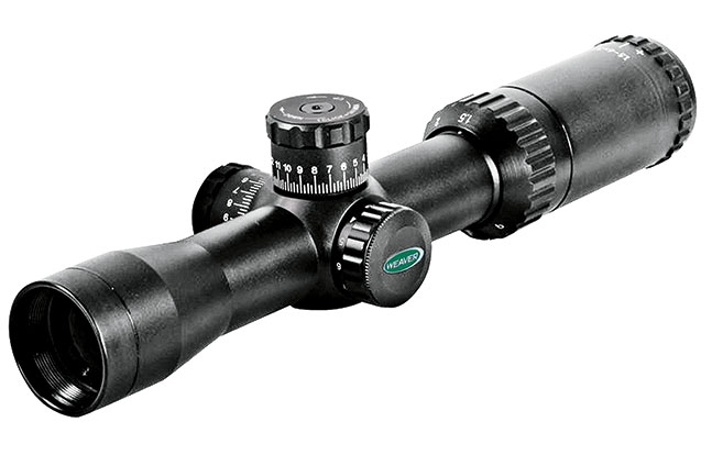 Weaver KASPA Tactical 1.5-6x32mm Optics & Sights