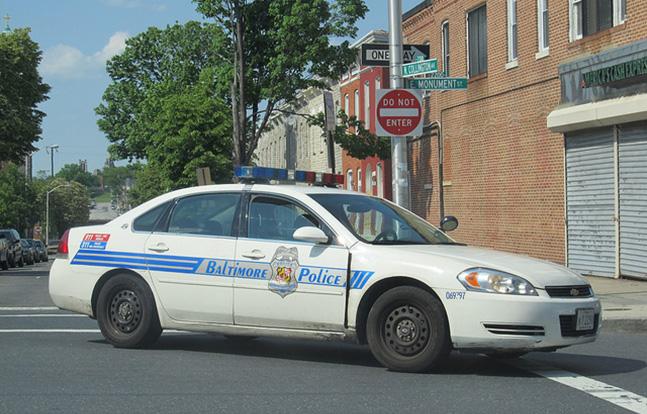 Baltimore Police Car body cameras