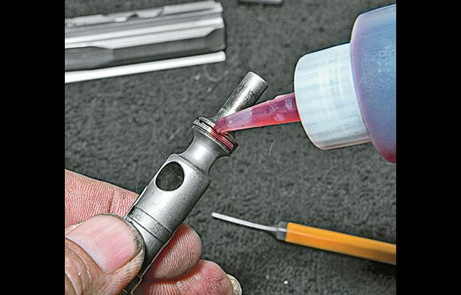 Clean AR BG oiling