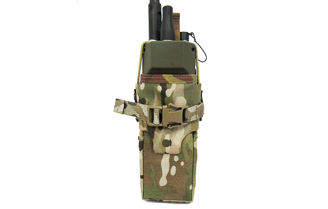 FirstSpear Multi-Access Radio Mission Pouch closed
