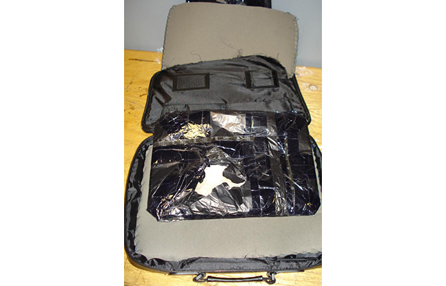 JFK CBP Computer Bag cocaine