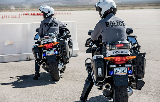 Marana PD bike back