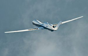 U.S. Navy MQ-4C Triton Unmanned Aircraft System cross country