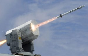 Raytheon Rolling Airframe Missile system