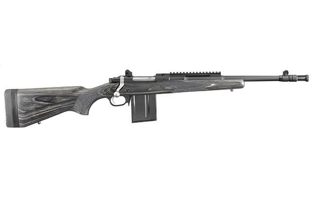 Ruger Gunsite Scout Rifle 5.56 black