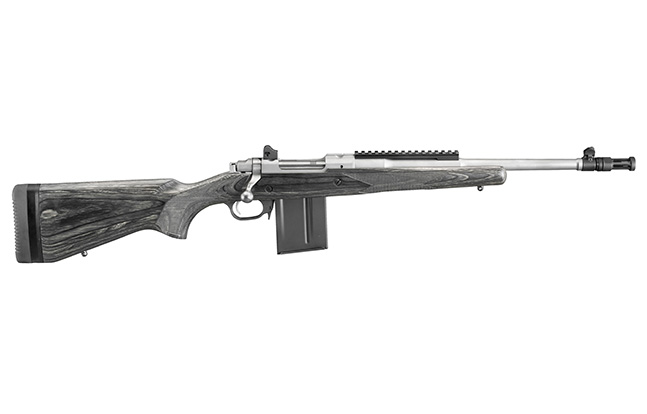Ruger Gunsite Scout Rifle 5.56 stainless