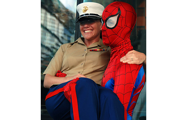Spider-Man Exosuit military