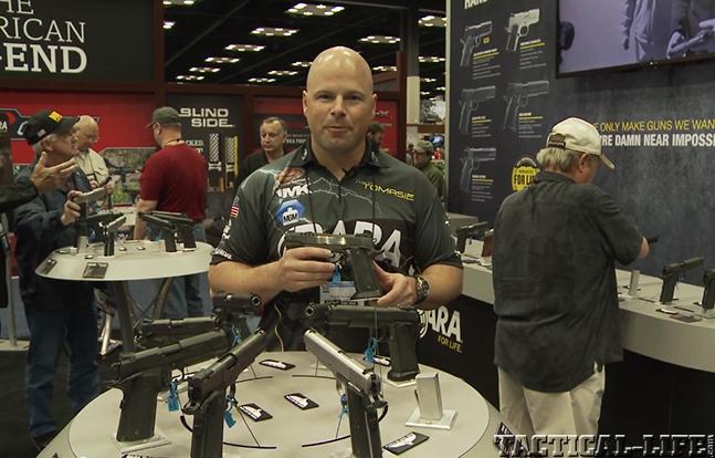 Travis Tomasie Para Tomasie Custom pistol