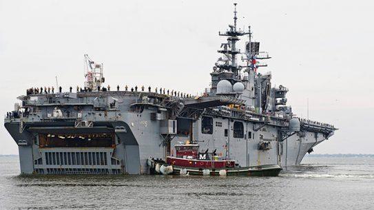 USS Bataan HDP-T pay