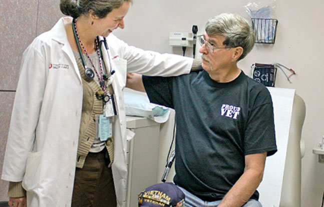 Veterans doctor Wait Times