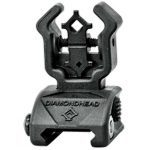 11 Back Up Iron Sights Diamondhead Polymer Flip-Ups with NiteBrite rear