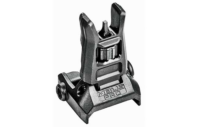 11 Back Up Iron Sights Magpul MBUS Pro front