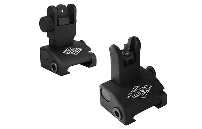 11 Back Up Iron Sights Yankee Hill Machine Q.D.S. site