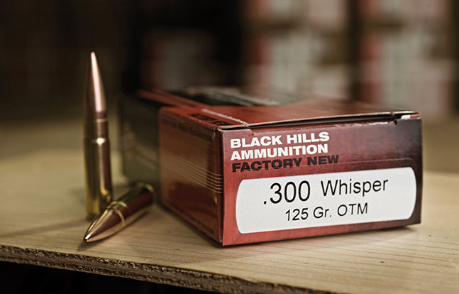 Best 300 BLK Ammo Black Hills lead