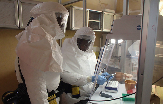 Army Researcher Fighting Ebola