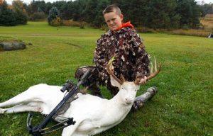 Oceola Township Albino Deer