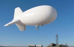 Aerostat prison security drones