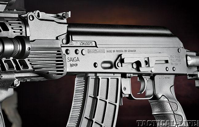 Concern Saiga IZ132SM SWMP Oct scope rail
