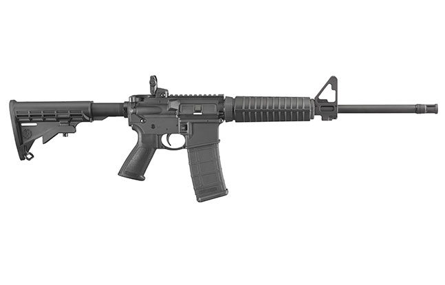 fall 2014 best tactical rifles Ruger AR-556 right